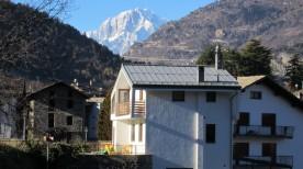 Esterno e Monte Bianco